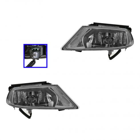 05-07 Honda Odyssey Fog Driving Light Assy (Dealer Installed) PAIR