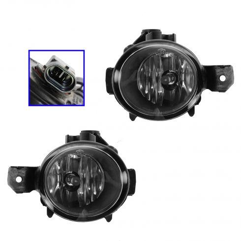 08-12 BMW 128I M/Pkg; 12-13 X1 M/Pkg (w/o Adap HL); 07-10 X3, X5 (w/o Adap HL) Fog Driving Lamp PAIR