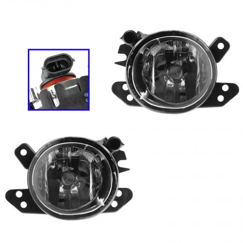 06-11 MB C, CL, CLK, CLS, E, GL, GLK, ML S Class Multifit; 08-12 Smart Fog Driving Light PAIR