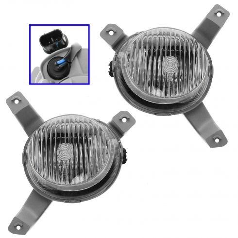 07-11 Aveo Ntbk; 07-08 Wave Notchback Fog Driving Light PAIR