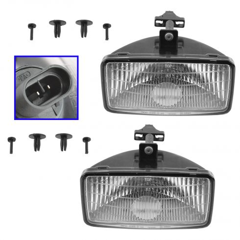 2000-03 GM S-Series Fog Light Pair