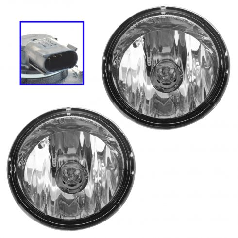 98-02 Chevy Camaro Driving Fog Light Assy PAIR (GM)