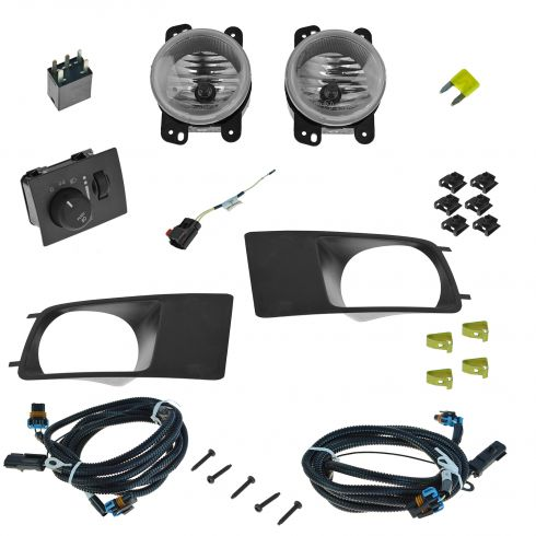 05-07 Dodge Magnum Dealer Installed Complete Fog/ Driving Light Installation Kit (Mopar)