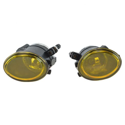 01-05 BMW 3 Series Performance Yellow Lens Fog Light Pair