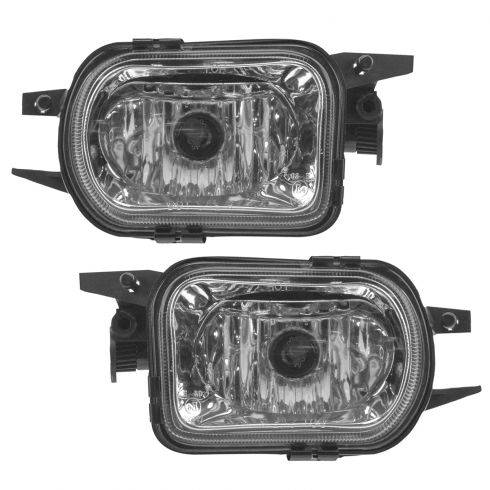 01-04 Mercedes C,CL, SLK-Class Mulitfit Performance Clear Lens Fog Light Pair