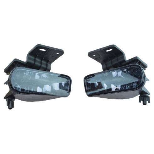 99-02 Silverado; 00-06 Suburban, Tahoe Performance Smoked Lens Fog Light Pair