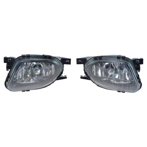 03-06 Mercedes E Class W211 Performance Clear Lens Fog Light Pair
