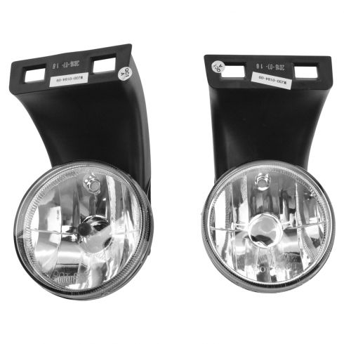 94-98 Dodge Ram; 99-02 Ram (exc. Sport) Performance Clear Lens Fog Light Pair