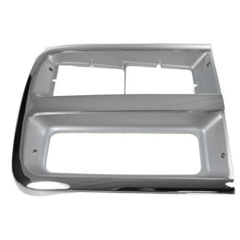 92-96 Chevy Van w/Dual Headlights Headlight Bezel/Trim RH