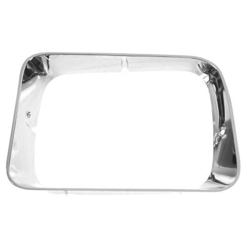 1992-93 Dodge D/W 150 250 350, Ramcharger Chrome Headlight Bezel LH