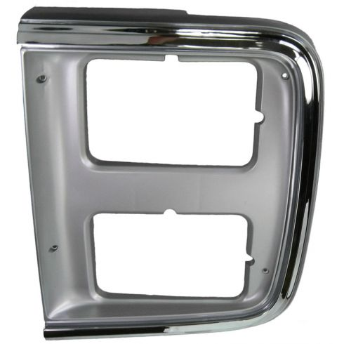 1985-91 Chevy GMC Van Chrome HL Trim Bezel LH