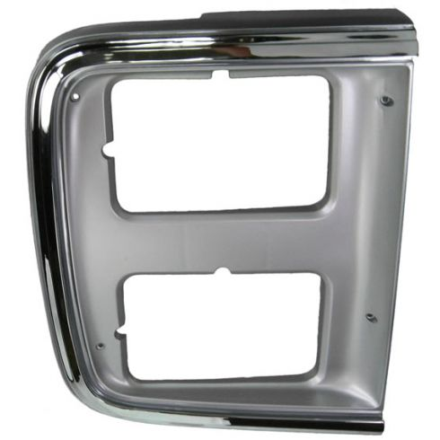 1985-91 Chevy GMC Van Chrome HL Trim Bezel RH