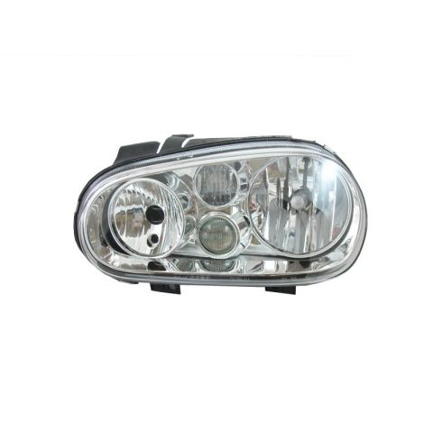 1999-02 VW Golf Headlight w/Fog - OEM - LH