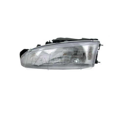 1993-96 Mitsubishi Mirage (2 dr) Composite Headlight LH