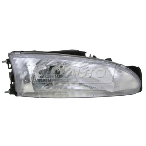 1993-96 Mitsubishi Mirage (2 dr) Composite Headlight RH