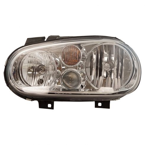1999-02 VW Golf Headlight w/Fog - Aftermarket - LH