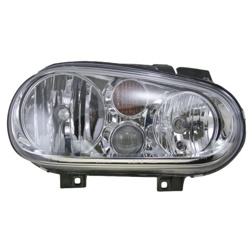 1999-03 VW Golf Headlight w/Fog - Aftermarket - RH