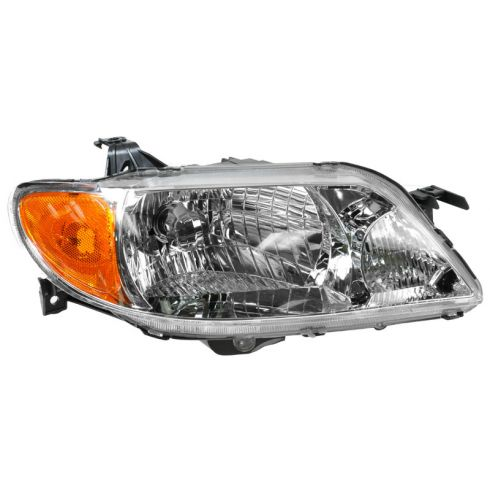 2001-03 Mazda Protege (sedan) Composite Headlight Combo (with alum bezel) RH