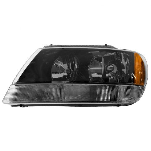 2002-03 Jeep Grand Cherokee Laredo Composite Headlight LH