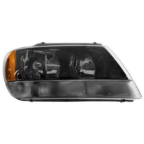2002-03 Jeep Grand Cherokee Laredo Composite Headlight RH