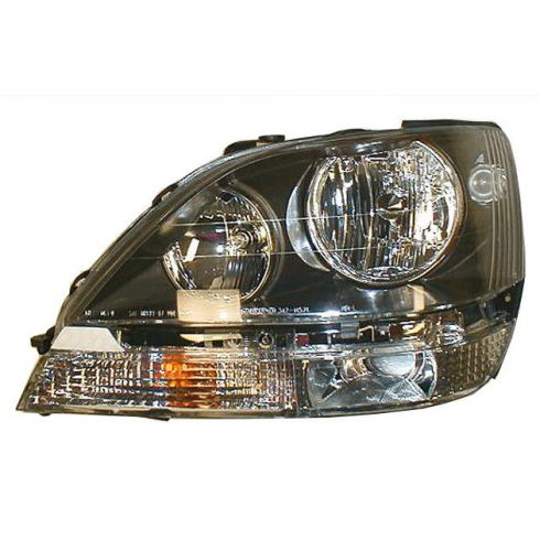 1999-00 Lexus RX300 (non HID) Composite Headlight Combo LH