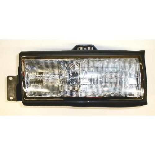 1989-90 Cadillac Deville Composite Headlight LH