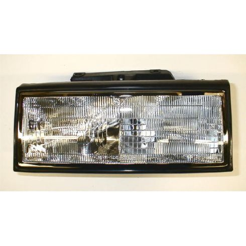 1991-93 Cadillac Deville Composite Headlight LH