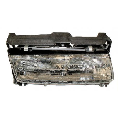 1990-96 Grand Prix Composite Headlight (with center light bar) RH