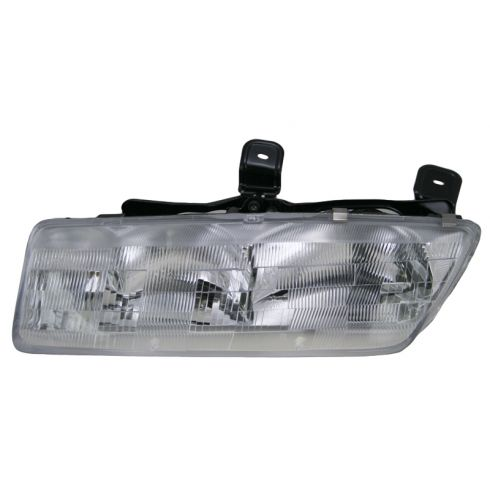 1991-92 Saturn 4 dr sedan Composite Headlight LH