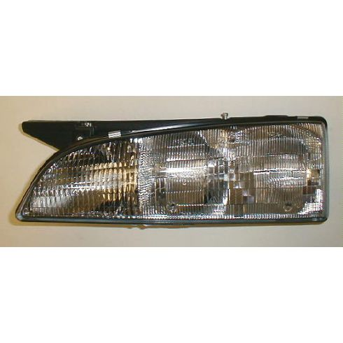 1992-93 Bonneville Composite Headlight (with black edge) LH