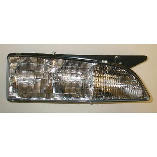1992-93 Bonneville Composite Headlight (with black edge) RH
