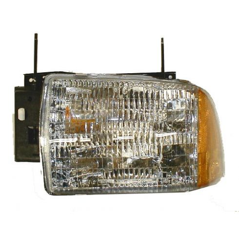 1995-97 Chevy S10 Blazer Composite Headlight Combo LH
