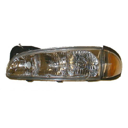 1996-99 Pontiac Bonneville Composite Headlight Combo LH