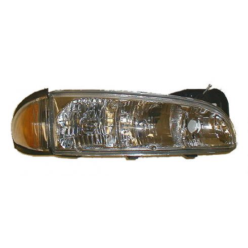 1996-99 Pontiac Bonneville Composite Headlight Combo RH
