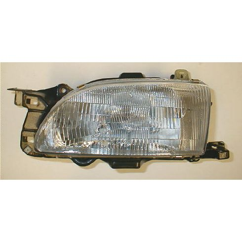 1994-96 Ford Aspire (excl SE) Composite Headlight LH