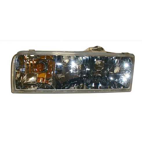1995-97 Lincoln Town Car Composite Headlight LH