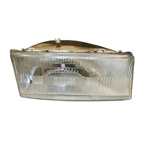 1989-95 Dodge Spirit Composite Headlight Capsule  RH