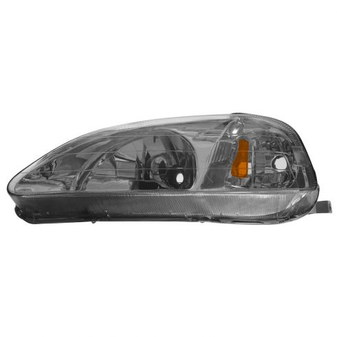 1999-00 Honda Civic Composite Headlight Combo LH