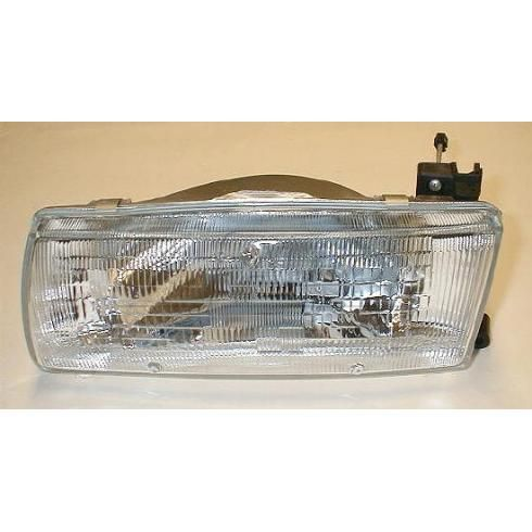 1991-92 Nissan Sentra Composite Headlight LH