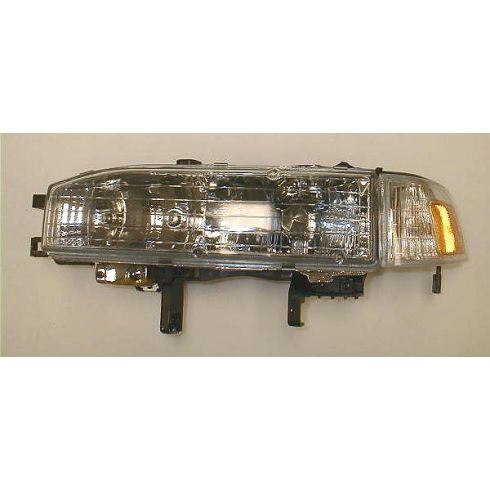 1990-91 Honda Accord Composite Headlight Combo LH