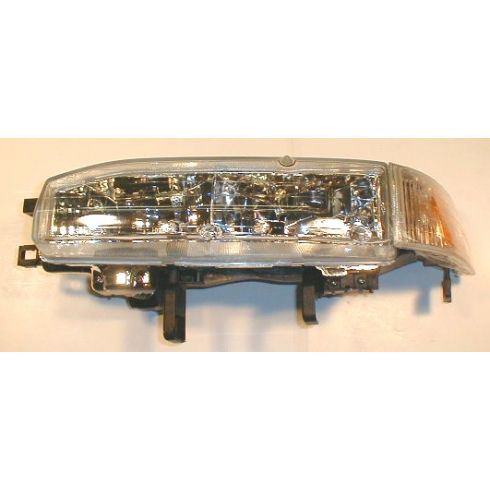 1992-93 Honda Accord Composite Headlight Combo LH