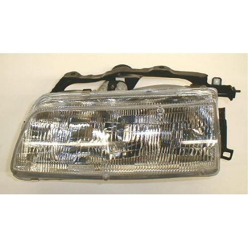 1990-91 Honda Civic Composite Headlight LH