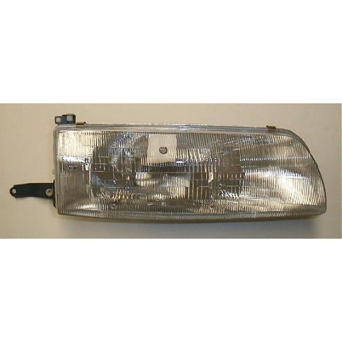 1991-93 Toyota Previa (wo Integrated Fog Lamp) Composite Headlight RH