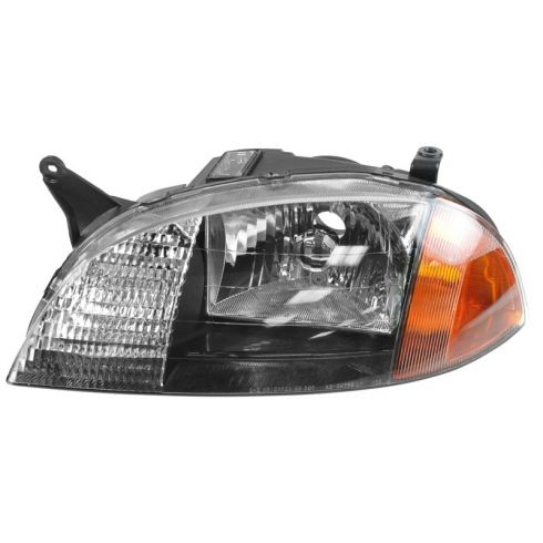 1998-01 Geo Metro Composite Headlight Combo LH