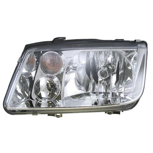 1999-02 Volkswagen Jetta Headlight  Without Fog Lamp HELLA Brand LH