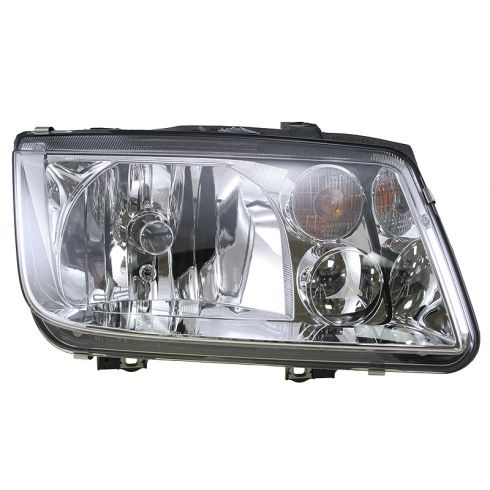1999-02 Volkswagen Jetta Headlight  Without Fog Lamp HELLA Brand RH