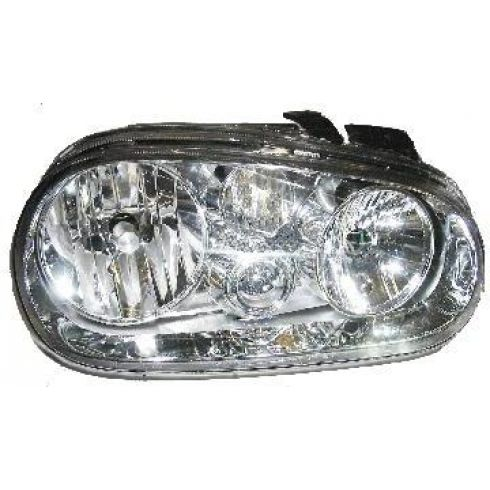 99-02 Headlight Volkswagen VW Golf GL Cabrio RH