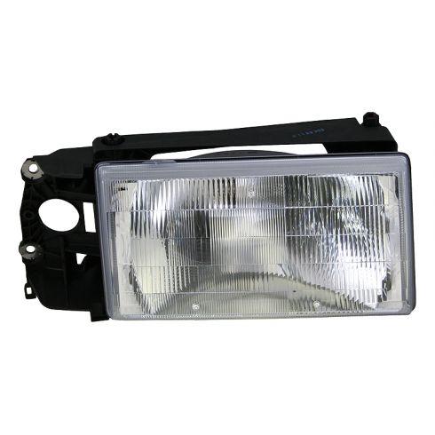 92-95 Volvo 940 Headlight Assy w/o Fog Light RH