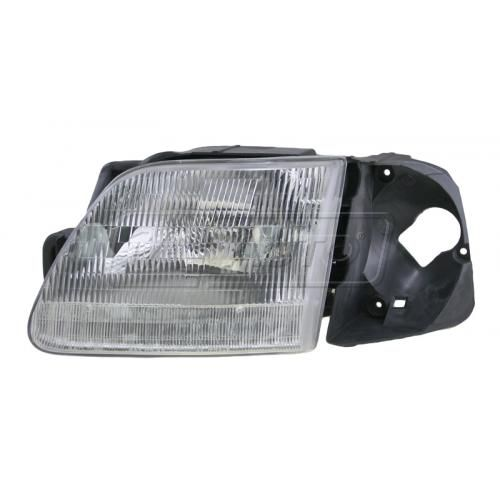 1997 Ford F150 Composite Headlight LH