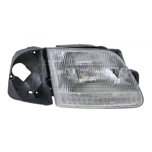 1997 Ford F150 Composite Headlight RH